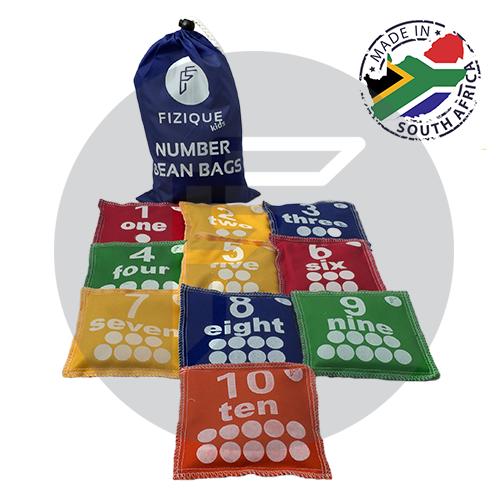 Number Bean Bags (Set of 10) ENGLISH