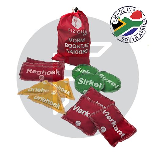 Shape Bean Bags (Set of 12) ENGLISH
