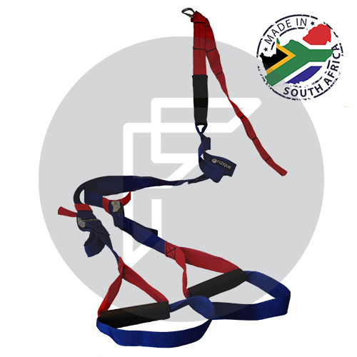 Suspension Trainer, locally manufactured for a total body workout anywhere