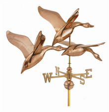 Large Three Flying Geese Weathervane