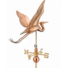 Large Heron Weathervane