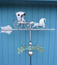 Large Sulky Weathervane