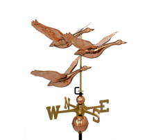 Three Flying Geese weathervane