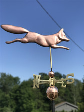 Running Fox Weathervane