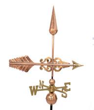 Serpentine scroll arrow