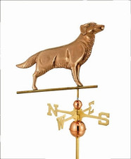 Golden Retriever Weathervane 1