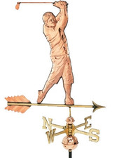 Golfer Weathervane 1