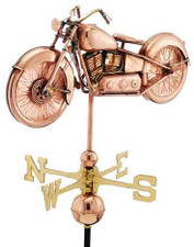 Vintage Motorcycle Weathervane