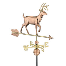 Whitetail Buck Weathervane