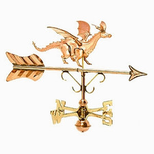 Small Dragon Weathervane
