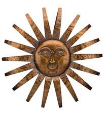 """SEDONA SUN WALL DECOR 34"""""""