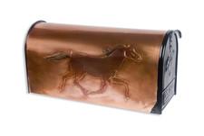 Rural Black Beauty Copper Mailbox