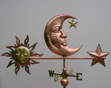 Deluxe Moon Weathervane