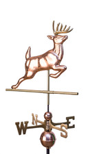 Leaping Buck Weathervane