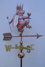 King Pig Weathervane