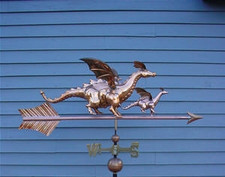 Dragon and Baby Weathervane