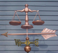 Scales of Justice Weathervane