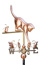 Small Cat and Mice Weathervane