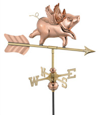 Small Flying Pig Weathervane