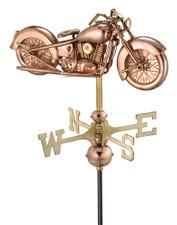 Small Motorcycle Weathervane