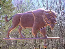 Buffalo Weathervane 2