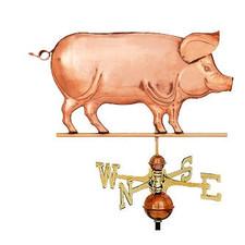 Standing Pig Weathervane