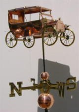 Antique Car Weathervane 2