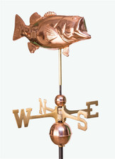 Bass Weathervane 1