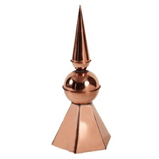 Highland Finial with Square Cap