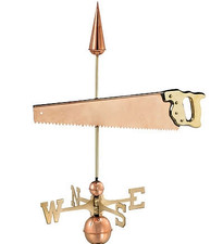 Hand Saw Weathervane