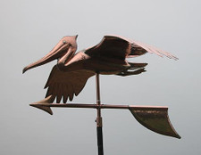 Soaring Pelican Weathervane