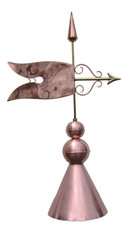 Finial Banner with Round Cap
