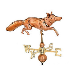 Full Bodied Fox Weathervane