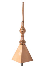 Notingham Finial with cap