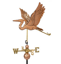 Deluxe Blue Heron Weathervane