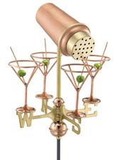 Small Martini Weathervane