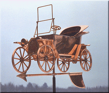 Antique Car Weathervane