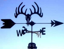 Deer Skull Weathervane