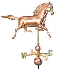 Large Comanche Horse Weathervane