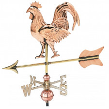 Small 3-D Rooster Weathervane