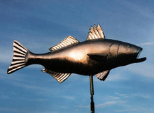 Striped Bass Weathervane