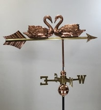 Double Swan Weathervane
