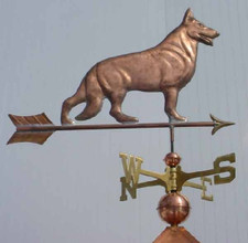 German Shepherd Weathervane 1