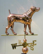 German Shorthair Pointer Weathervane