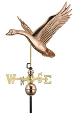 Feathered Goose Weathervane