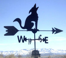 Coyote Weathervane