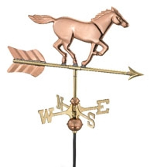 Small Horse Weathervane 1