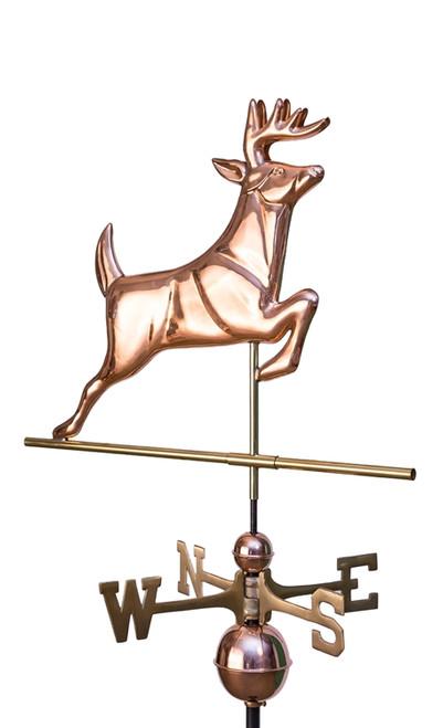 Leaping Deer Weathervane