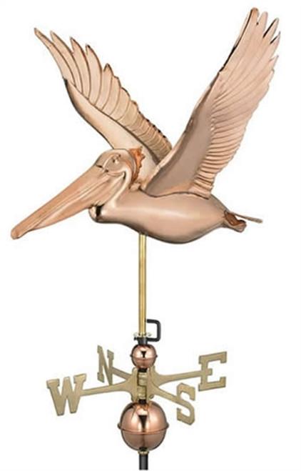 Flying Pelican Weathervane