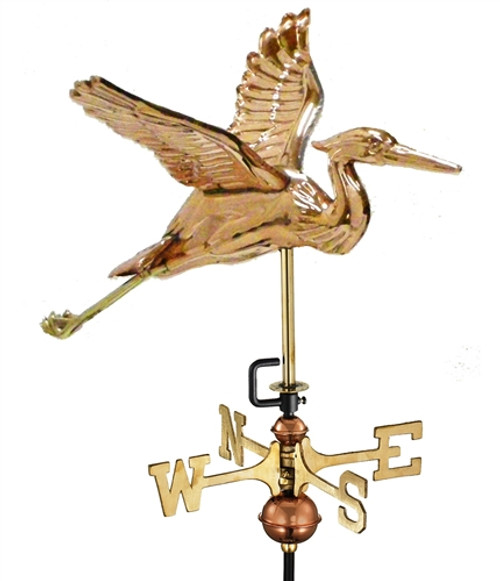 Small Heron Weathervane 1